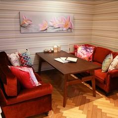 [限定1席]事前予約がお薦め★最大6名様までご案内可能なソファータイプの半個室席です