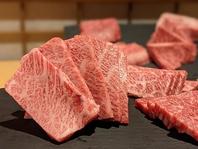 長崎和牛×国産銘柄鶏を本格炭火で味わう。