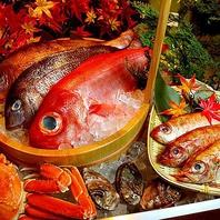 新鮮魚介を使った料理が豊富!
