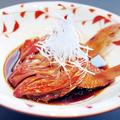 料理メニュー写真金目鯛かぶと煮