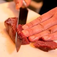お肉を絶妙な厚さにカット!!