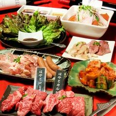 焼肉 はやと 博多駅 東店のコース写真