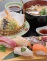 料理メニュー写真選べるお寿司のセット
