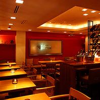 【4F】ワインが似合う大人空間。ソファ席でゆったり◎