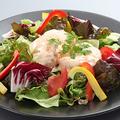 料理メニュー写真吟豆富サラダ/プリップリの海老のマヨネーズ和え