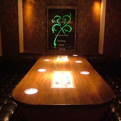 ソファ個室は6名程度☆完全個室のソファー席は他とは違う異空間!