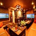 【VIPルーム】905R【最大20名】50インチ×2画面・専用冷蔵庫・採点機能付きカラオケ・ビールサーバー