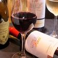 ワインなどお酒の種類も豊富です♪