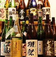 47都道府県の地酒を一合均一価格でご提供!!