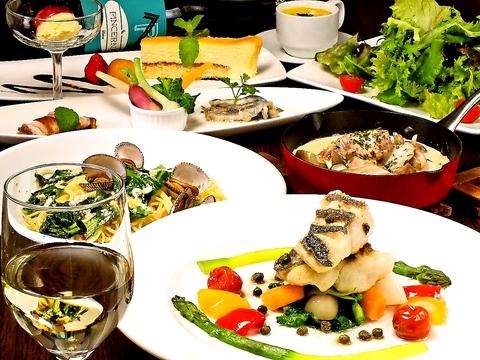 駅前♪東京の有名ホテル出身のシェフが作る美味しいお料理をご堪能ください!