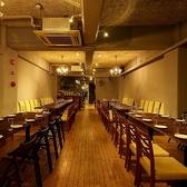 ◆3F 店内の装飾にも気を配り、お客様の居心地がよいと思われる空間作りに力を入れています。上品な店内風景は、デート利用はもちろんのこと団体利用や接待利用でも、「人に紹介したくなる」「リピートしたくなるお店」としてぜひ活用してください!