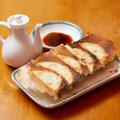 料理メニュー写真手作り餃子(5個)