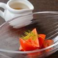 料理メニュー写真-196℃のフルーツトマト
