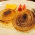 料理メニュー写真淡路島産玉葱ステーキ