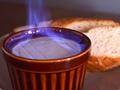 料理メニュー写真【炎の丸ごとカマンベールチーズ】