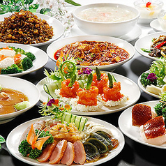 中華街大飯店のコース写真