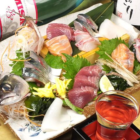 淀屋橋×全国の『生産者直送食材と本日鮮魚』の海鮮居酒屋