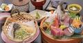 料理メニュー写真天ぷら刺身膳「雅」