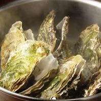 【期間限定!】牡蠣の吟醸酒蒸し 7個3200円