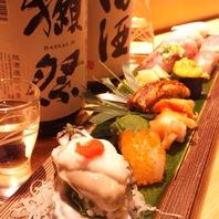 握りセットは2200円~お食事だけでも大歓迎です♪
