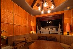 店内唯一の完全個室。人気席ですのでお早めにご予約を!