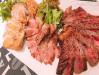 鹿児島県大崎町で育った「大崎牛」を使用した料理の数々