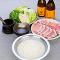 料理メニュー写真黒宝豚のとろとろ温泉豆腐しゃぶしゃぶ