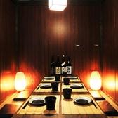 個室は10名・20名・40名・50名…人数に応じて用意◎お席は、2~100名様まで大人気の全席完全個室へご案内させて頂きます。※画像は系列店