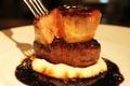 料理メニュー写真とろけるフォアグラ牛ステーキ R/L