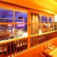 パルコ9F仙台の夜景を一望