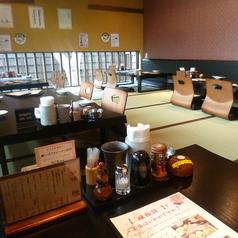 最大30名まで入れる畳の空間です。大切なおもてなし、ご家族の団欒には、日本の畳で決まり。