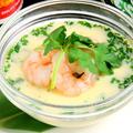 料理メニュー写真タイ風冷製茶碗蒸しカイトゥン