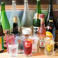 〈+70種類が飲み放題に〉 全コース+390円で、飲み放題を『プレミアム』にランクUP可能!通常でも60種類のドリンクが飲み放題ですが、地酒、カクテル、ノンアルコール…など70種類以上のドリンクメニューをお楽しみ頂けます♪
