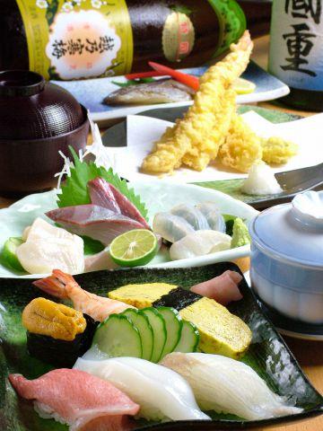 本格寿司で歓送迎会!瀬戸の素材や鮮度にこだわった好評の大将おまかせコース4800円