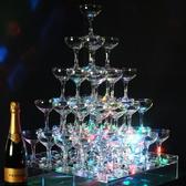 シャンパンタワーで華やかにお祝いを♪