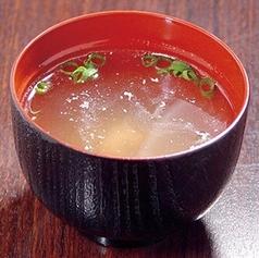 ご飯小・鳥スープ