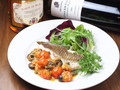 料理メニュー写真【new!!】真鯛のソテー プッタネスカソース