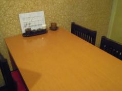 テーブル席(4名様~6名様)