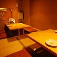 14名までOK!室町時代の茶室のような離れ個室が大人気。