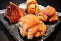 料理メニュー写真韓国風ホルモン盛り合わせ