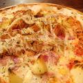 料理メニュー写真ベーコンポテトマヨピザ