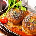 料理メニュー写真肉煮込みハンバーグ