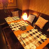 嬉しい個室プライベート空間で絶品料理と厳選された銘酒の数々をお楽しみ下さいませ。本格派肉バルの当店だからこそできる、ワインに良く合うお肉の調理方法など、絶品メニューを多数ご用意。完全個室なので周囲を気にせずお肉とお酒を余すことなくご堪能いただけます。