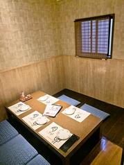 6名様でゆっくり座れる掘りごたつの個室!!予約優先になっております♪空き状況はお電話にてご確認ください。