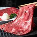 料理メニュー写真牛ロース焼きしゃぶ(100g)
