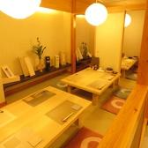 ≪座敷個室最大20名様≫テーブル一列で20名様での貸切利用も可能です。