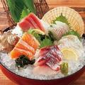 料理メニュー写真本日の鮮魚入り刺身5種盛り