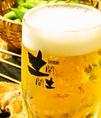 キンキンのビールも飲み放題!!