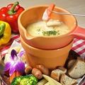料理メニュー写真とろーりチーズフォンデュ