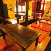 お座敷のテーブル4名様席×4